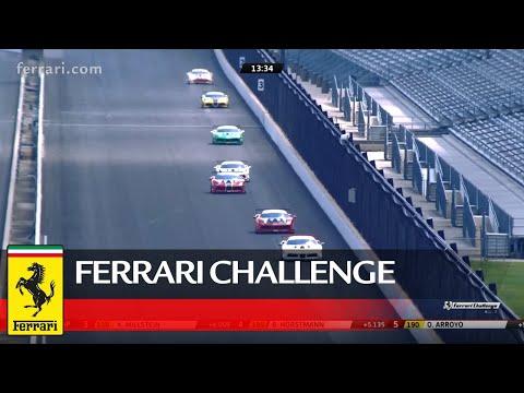 Ferrari Challenge North America - Indianapolis, Coppa Shell Race 1