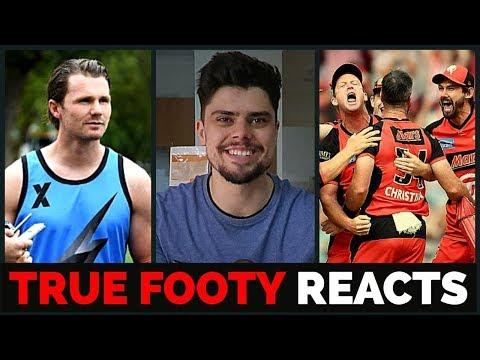 AFL X, BBL08 Final & Champion Data | TRUE FOOTY REACTS