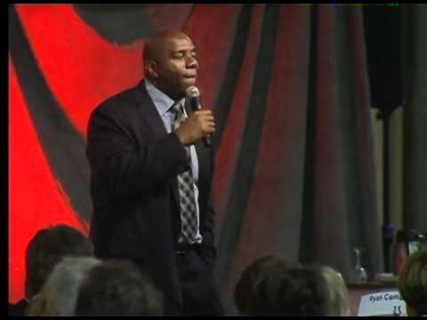 Magic Johnson Speech