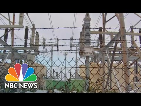 How Texas Power Grid Failed Against Winter Blast   NBC Nightly News