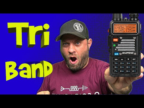 Radioddity UV-5RX3 Triband Baofeng Ham Radio Handheld