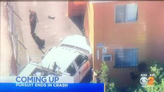 KCBS CBS 2 News at 5pm Saturday teaser and breaking news cold open August 17, 2019