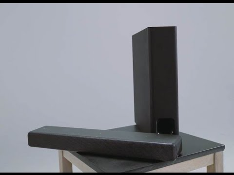 CES 2017: Sony's New HT-MT300 and HT-ST5000 Sound Bars (First Look)