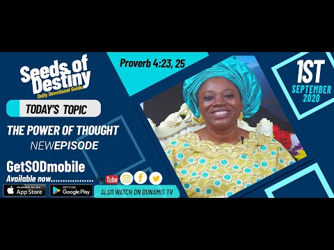 Dr Becky Paul-Enenche - SEEDS OF DESTINY - TUESDAY SEPTEMBER 1, 2020