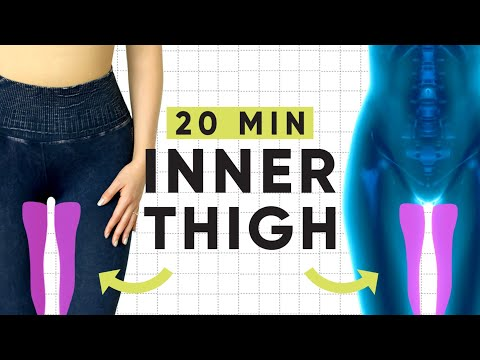 20 Minute Inner Thigh Isolate Workout | No equipment, at-home Pilates exercises