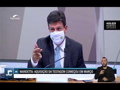 Repórter Cultura | Mandetta explica estratégia de testagem não utilizada pelo Governo Federal