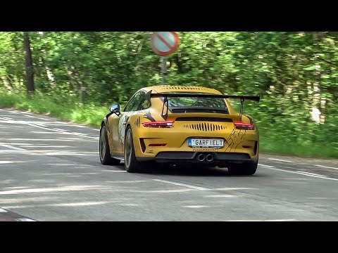 Supercars Accelerating - 2x 992 GT3, Huracan Performante, 900HP GT-R, RS E-Tron GT 600LT, RS7 C8