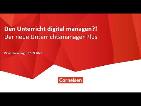 Webinar 09/20   DaF   Den Unterricht digital managen?! Der neue Unterrichtsmanager Plus