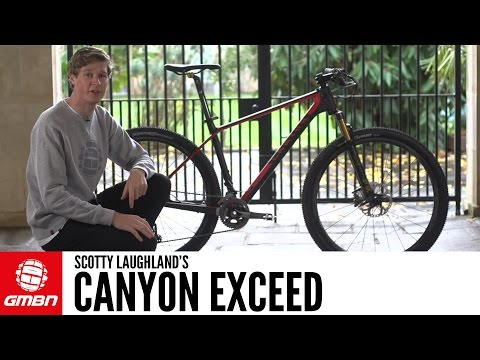Scotty Laughland's Canyon Exceed | GMBN Pro Bikes