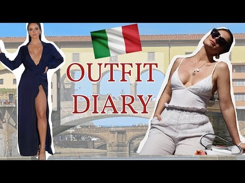 Travel Outfit Diary: 4 Looks from the NARS trip to Italy! \ Chloe Morello Vlog