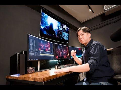ProArt Display - Elevates Content Creator's workflow in Animation Studio  | ASUS