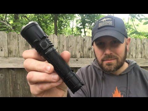 Klarus XT21X Flashlight: 4000 Lumens, Lots of Throw and Flood, USB-Rechargable, Cool Holster