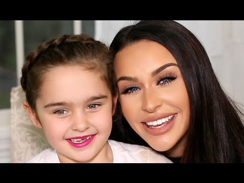 CROWN BRAID Hair Tutorial with Brooke! | Carli Bybel