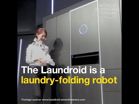 The Laundroid is a laundry folding robot
