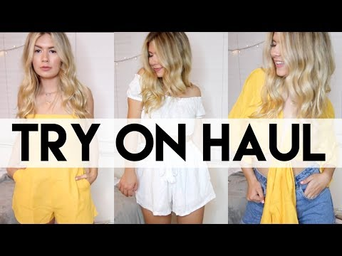 Summer Try-On Clothing Haul