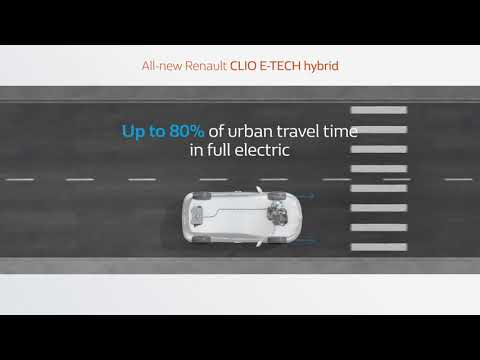 All new Renault CLIO E-TECH hybrid: efficiency and driving pleasure