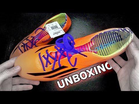 new product bddf5 282d6 New 2014 adidas F50 adizero FG Unboxing by freekickerz