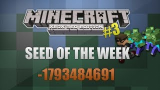 Minecraft perfect city seed number flat plains rivers natural seed.