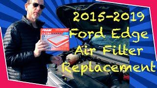 Cambio filtro aria Ford EDGE da 2015