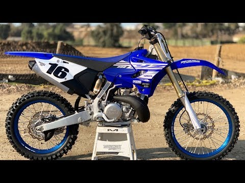 First Ride 2019 Yamaha YZ250 2 Stroke - Motocross Action Magazine