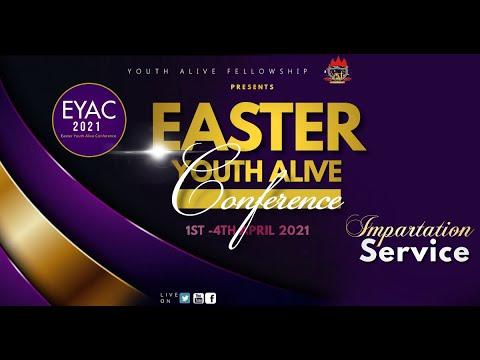 DOMI STREAM: EYAC2021  FULFILING YOUR GLORIOUS DESTINY  IMPARTATION SERVICE  3, APRIL 2021.