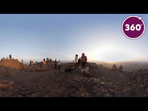 See Edinburgh from the Summit of Arthur's Seat | 360 Video