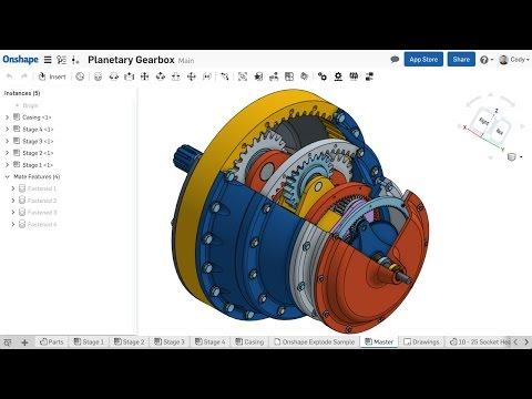 Webinar | Creating Complex Assembly Motion in Onshape (November 22nd, 2016)