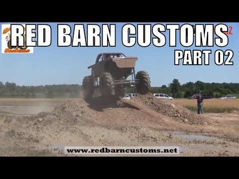 RED BARN CUSTOMS MUD BOG 2018 - PART 2