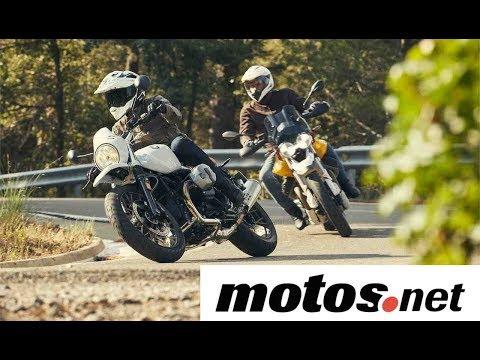 Comparativo BMW R nineT Urban GS vs Moto Guzzi V85TT / Prueba / Review en español