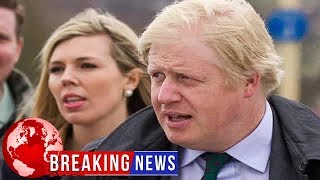 Carrie and BoJo make history as first unmarried couple on Downing St.