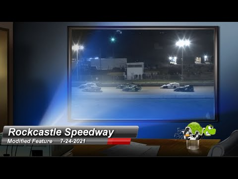 Rockcastle Speedway - Modified Feature - 7/24/2021 - dirt track racing video image