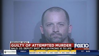 Man found guilty in shooting of Baldwin County deputy