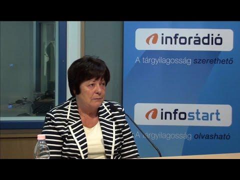 InfoRádió - Aréna - Pálffy Ilona - 1. rész - 2019.10.11.