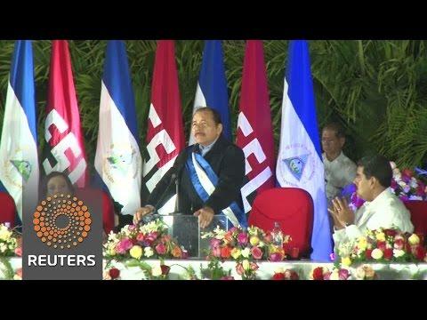 Nicaragua's Ortega sworn in for third term