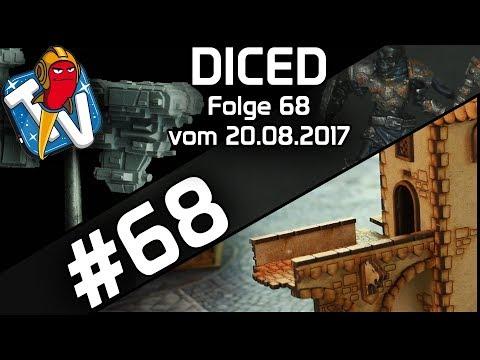 DICED - Die Tabletopshow auf Rocketbeans TV #68 | Runewars | Spielplatte bauen | Full Thrust | DICED