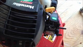 How to Fix A Homelite Leaf Blower That Won't Start - YouTube