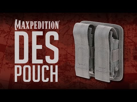 MAXPEDITION Advanced Gear Research DES Double Sheath Pouch