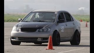 Supercharged  Gutted 2003 Toyota Corolla Track Toy – One Take