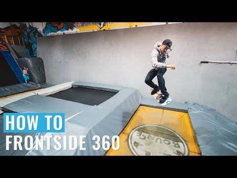 How To Frontside 360 On Your Training Board