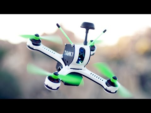 TANKY: World's Fastest Production FPV Racing Drone Quadcopter - UCR_mEpfRVCFkVmIQIxmsZMQ