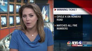 Winning $1 million Mega Millions ticket, $50K Powerball ticket sold in Tucson