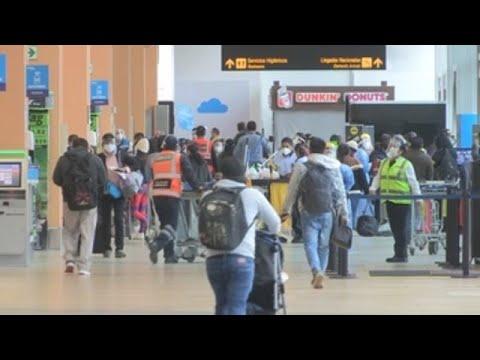 Perú retoma conexiones aéreas con países extranjeros tras siete meses aislado