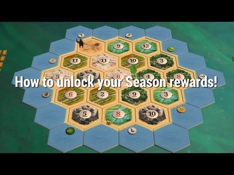 How to unlock your Season rewards! [Catan Academy]