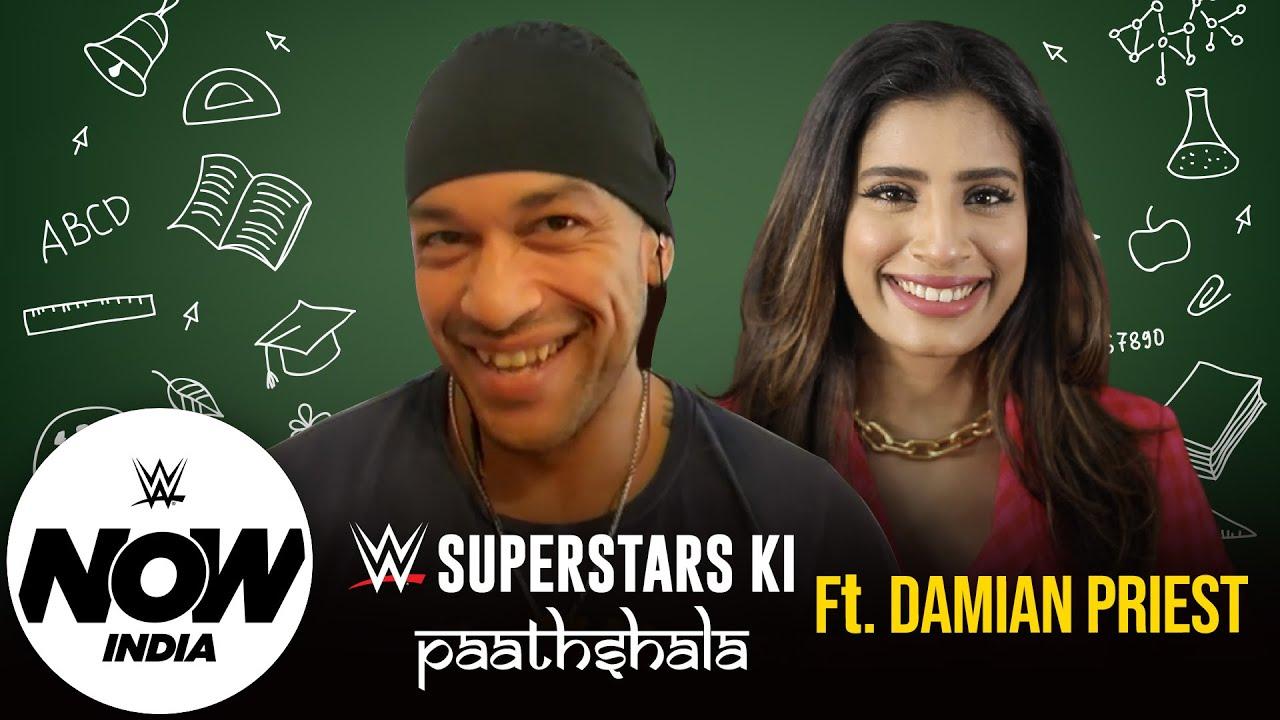 Damian Priest takes on Gaelyn's challenge | WWE Superstars Ki Paathshala Ep. 2: WWE Now India
