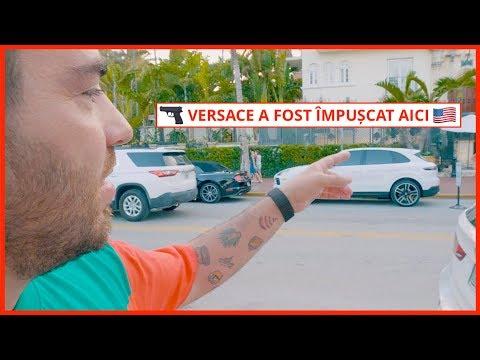 Versace a fost împușcat aici! (Ocean Drive, Miami) | Daily Vlog