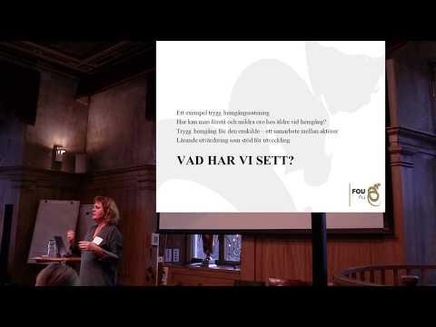 En eftermiddag om trygg hemgång del 3/3 - presentation av Elisabeth Lauritzen