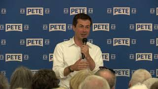 Buttigieg shares his values for Americans at Ottumwa meet-and-greet