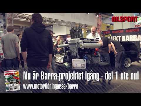 4-liters raksexa med turbo i Volvo 945 - Barraprojektet är igång!