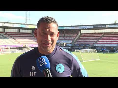 Henk Fraser: 'Mooie uitdaging om van Feyenoord en van meneer Advocaat te winnen'