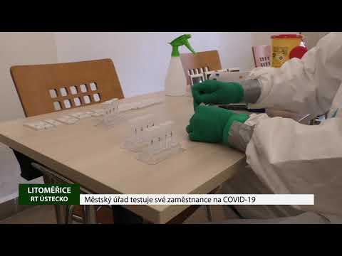 Městský úřad testuje své zaměstnance na COVID-19